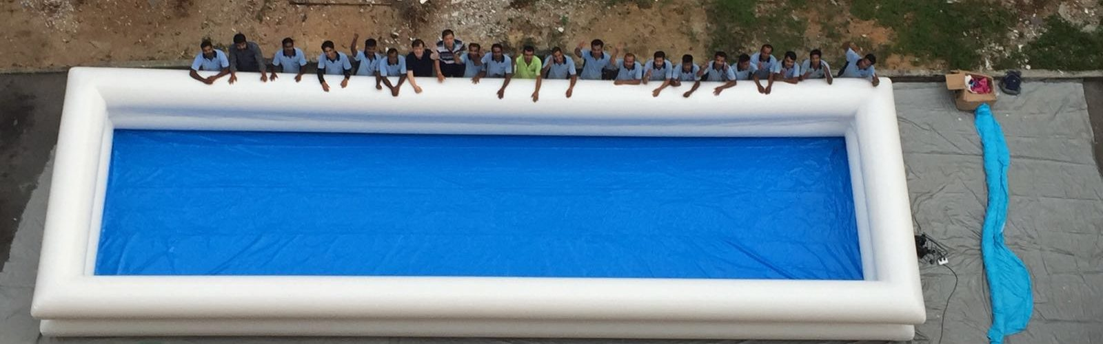 Portable pool singapore portable and inflatable pool for rental for Swimming pool equipment singapore