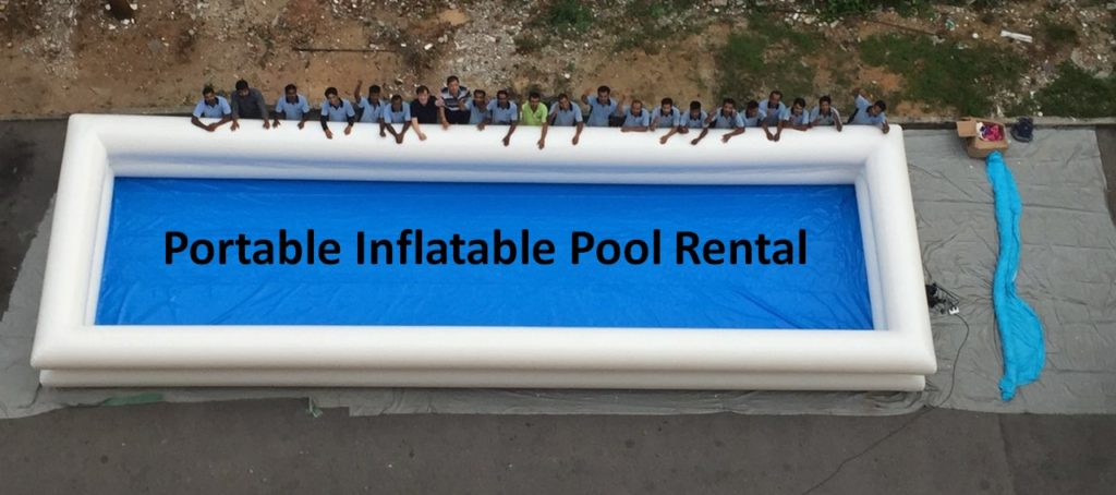 Inflatable Portable Swimming Pool Rent Singapore For Hire