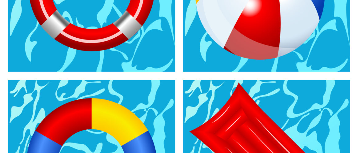 Various Inflatable Portable Swimming Pool Toys Singapore